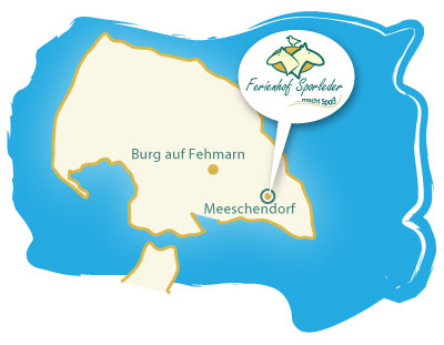 Fehmarn Karte Insel.Ferienhof Sporleder Lage Anfahrt